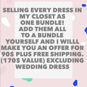 Bundle dresses